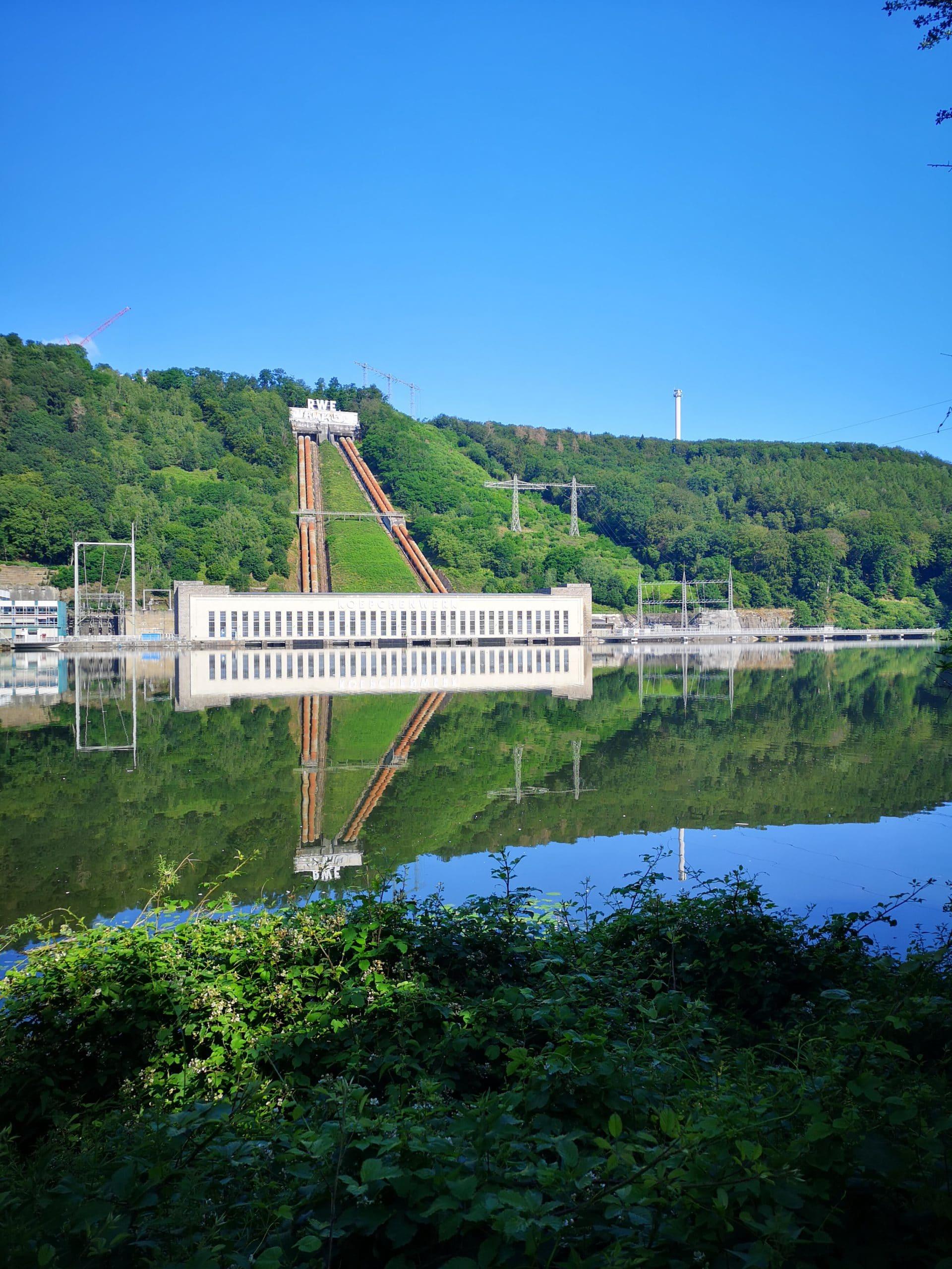 RWE Laufwasserkraftwerk